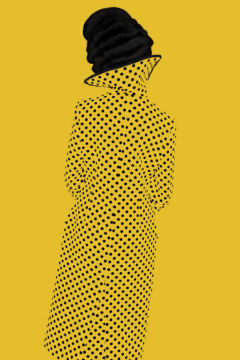Erik MADIGAN HECK (*1983, United States): Without A Face (Yellow), Old Future – Christophe Guye Galerie