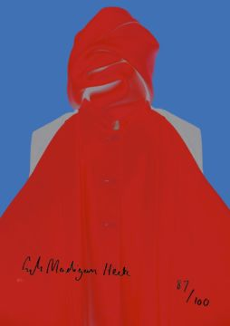 Christophe Guye Galerie Erik Madigan Heck Poster 2 Signed Without A Face Balenciaga